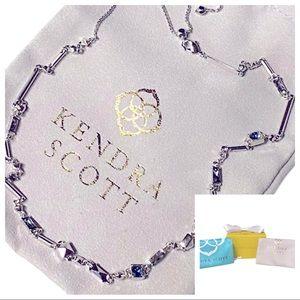 Kendra Scott Rhinestone Necklace Gift Set-NWOT